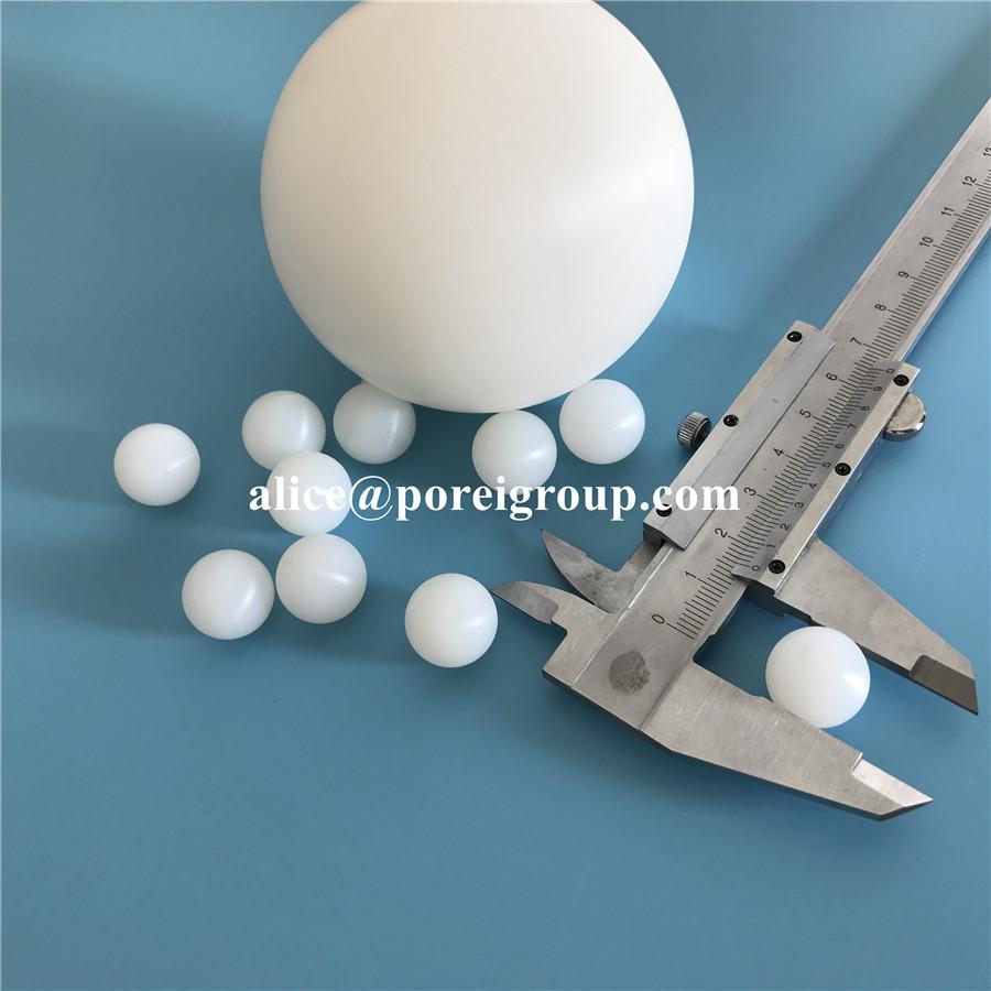 Solid nylon plastic balls PA nylon ball