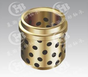 CHB-JNA Oilless bronze Guide Bushes self-lubricating with graphite
