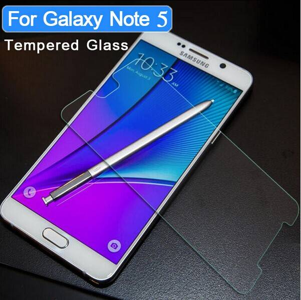 New Arrival premium 0.3mm 2.5d 9h tempered glass screen protector for Samsung Galaxy Note 5