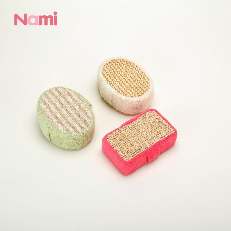 Best Body Exfoliator Tool Back Scrubber Egyptian Loofah Loofah Scrub Henan Nami Textile Technology Co Ltd