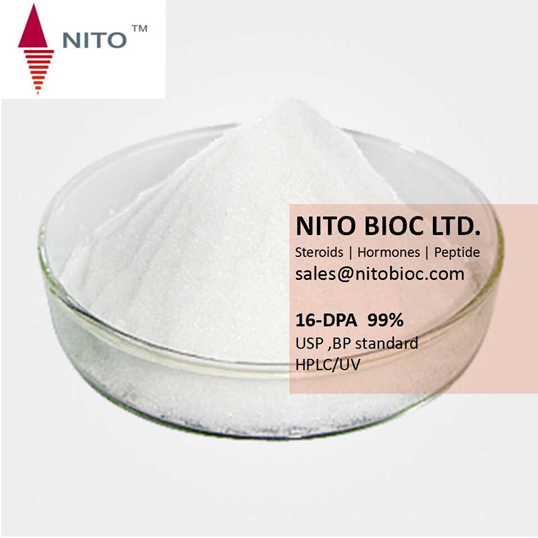 NITO hot sell, factory qualiy control 16-DPA(16-dehydropregnenolone acetate)