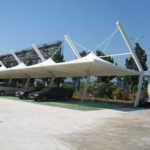 New type and convenient car parking canopy