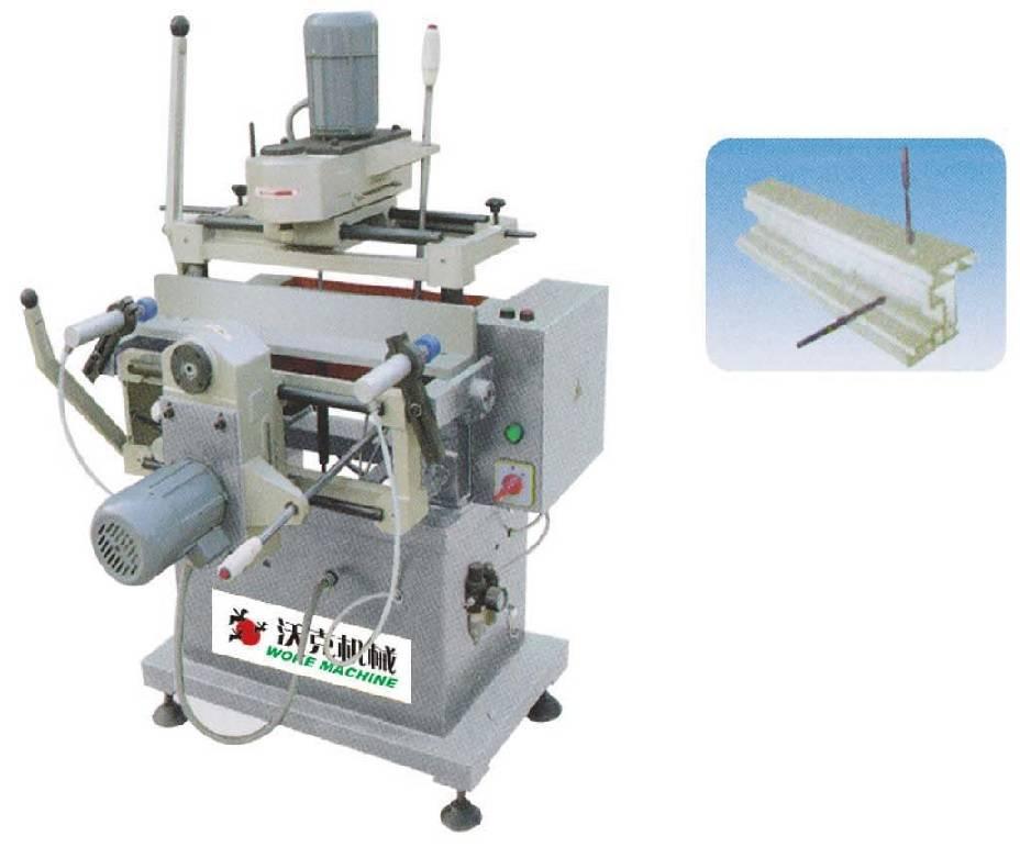 aluminum window door copy routing milling machine