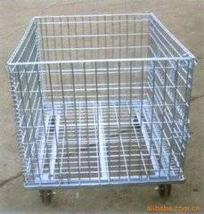 GALVANIZED STEEL warehouse box storage CAGE  (FOR MARKET OR WAREHOUSE) manufacturer direct sale