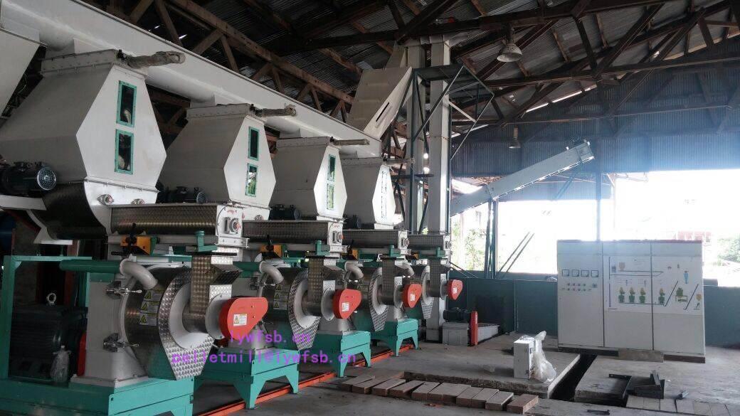 sawdust pellet machine/rice husk pellet mill