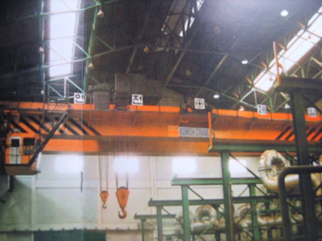 Electric Overhead Traveling Crane