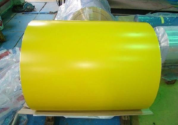 Advanced Prepainted galvanized steel coils PPGI