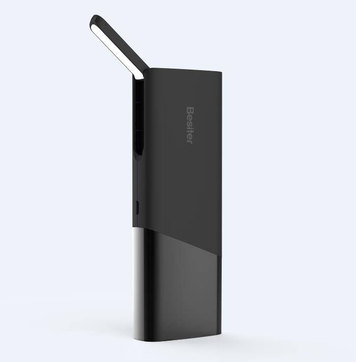 10000 mAh Portable Power Bank with LED Light