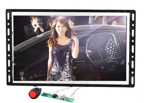 7, 10, 15 inch Open Frame Advertising Screen