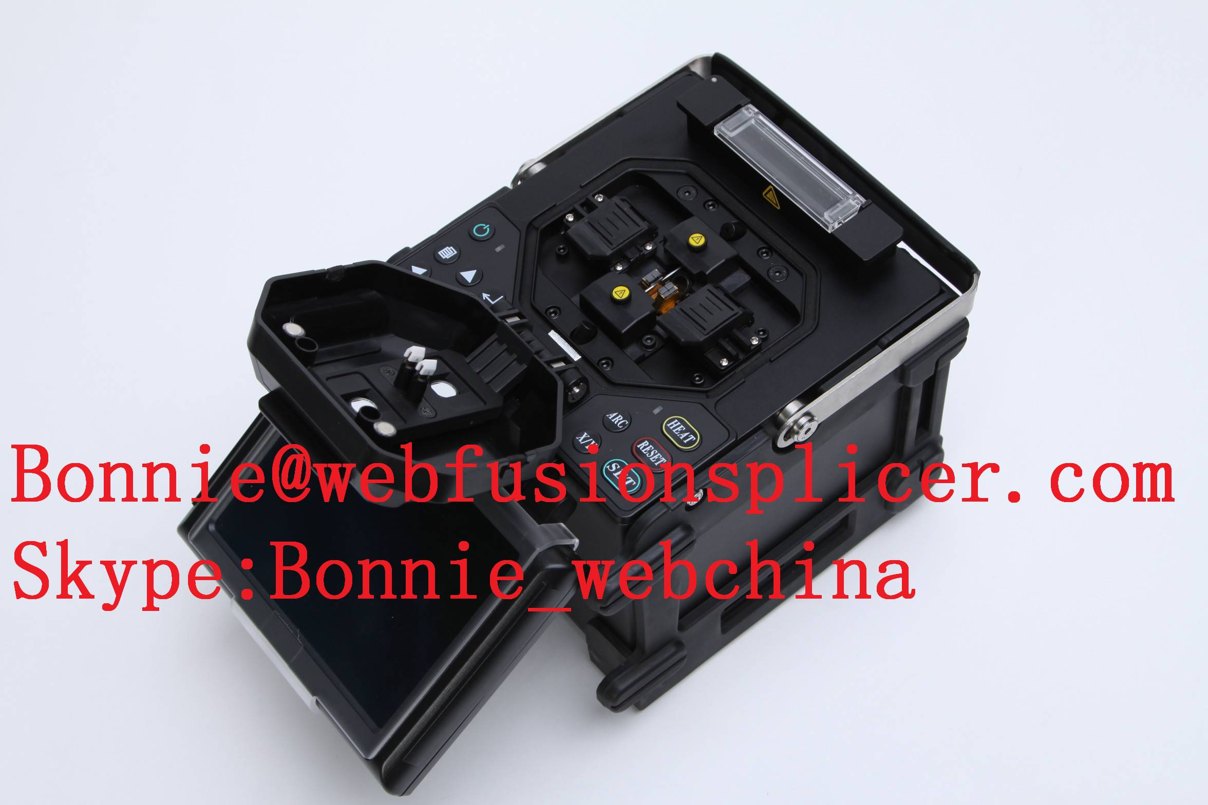 low price of easy operating fusion splicer high quanlity optical fiber splicer
