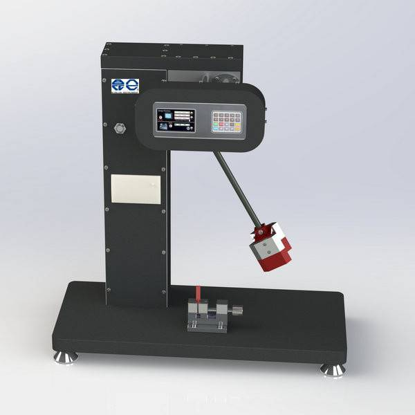 Digital display IZOD impact tester