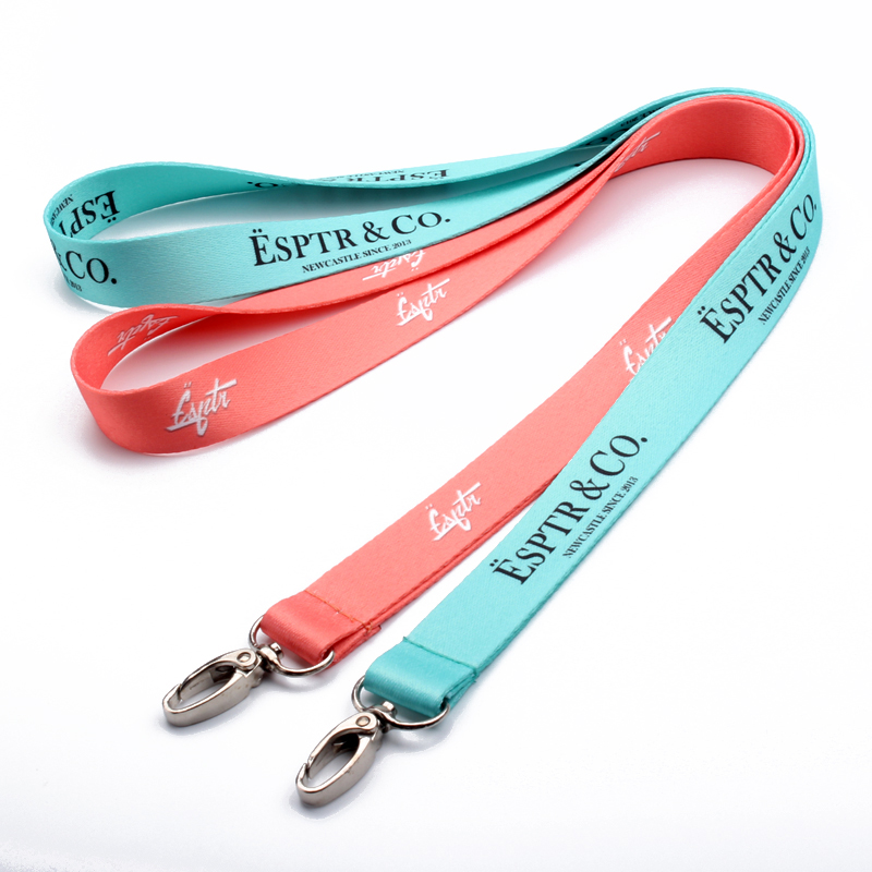 2017 new product custom sublimation polyester lanyard&Custom lanyard no minimum order