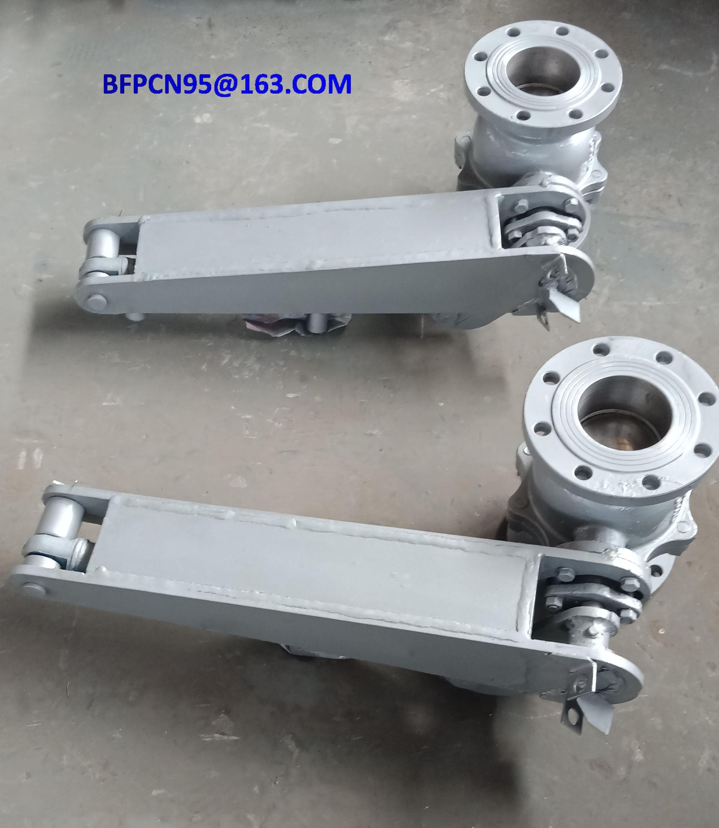 Ash release & cleaning valve (Cinder valve or ash valve)