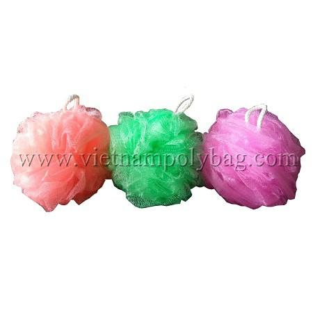 Vietnam plastic mesh bath sponge