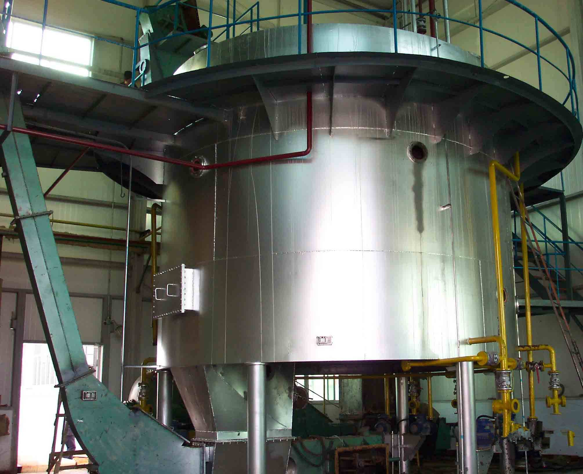 soya bean oil solvent extraction machine