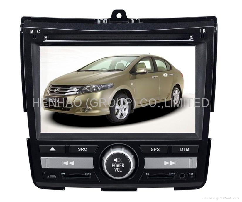 9966 Car DVD Player For FAN/CITY With GPS /Bluetooth/iPod (HD:800*480)