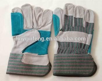 10.5 inch cheap welding leather gloves long sleeve welding gloves