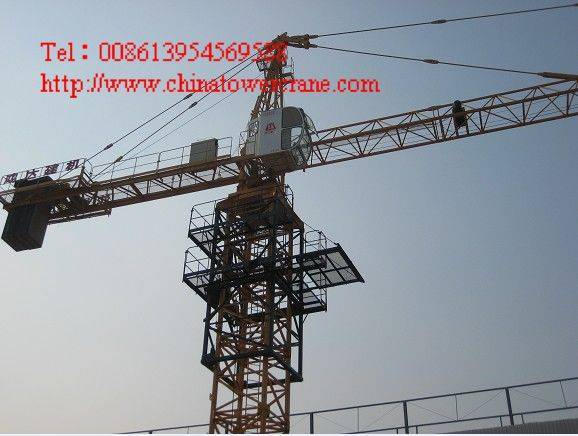 QTZ63B tower crane
