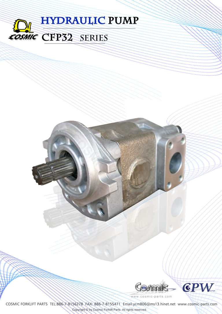 Hydraulic pump CFP32 Catalogue (size)- Cosmic TW OS.325