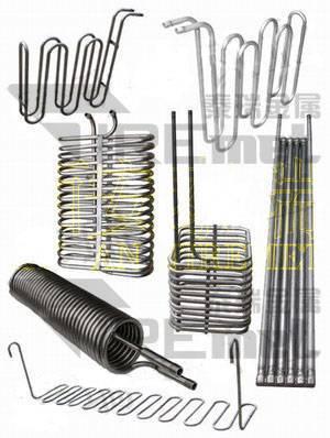 Titanium heating coil,titanium cooling coil,titanium spiral pipe