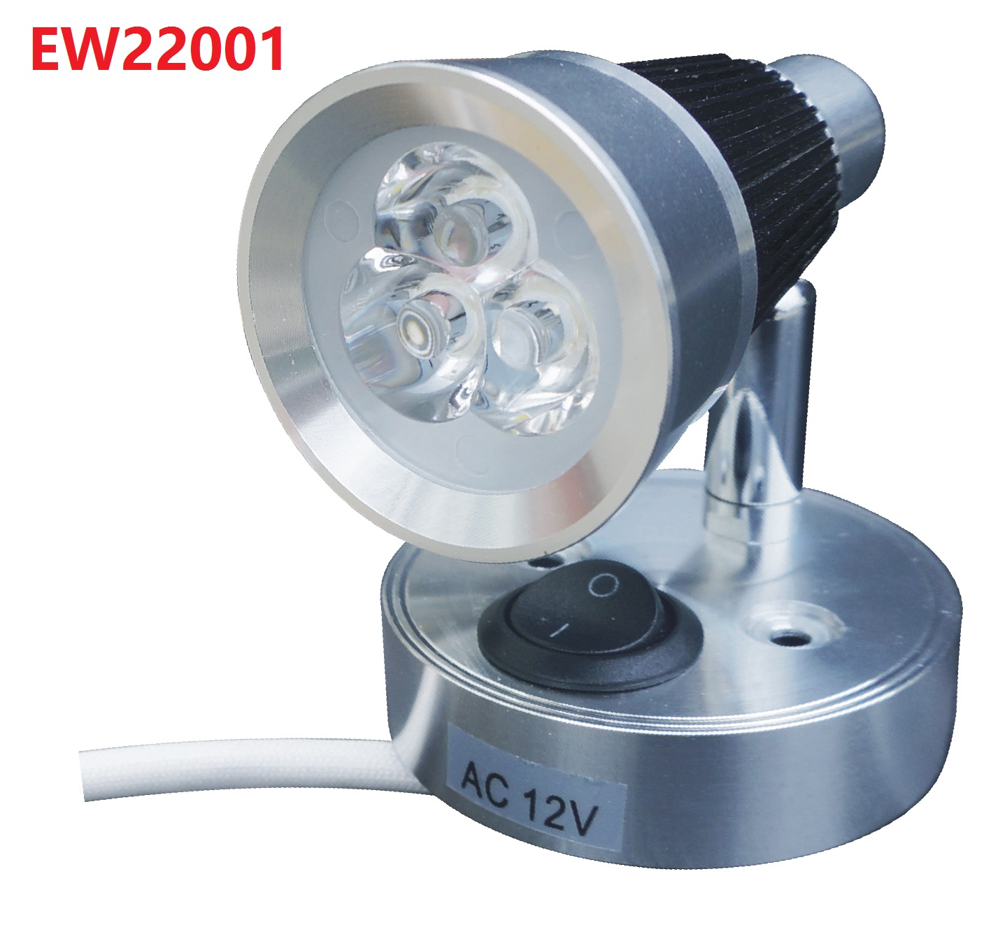 EW22001 Model AC12V Aluminum Led Reading Light