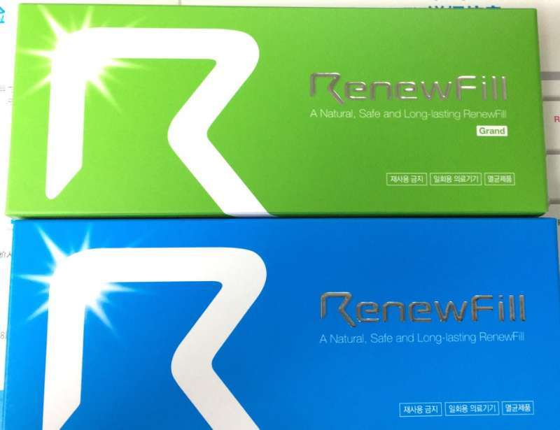 Renewfill Injectable Sodium Hyaluronate Dermal Filler/Acid Hyaluronic Filler