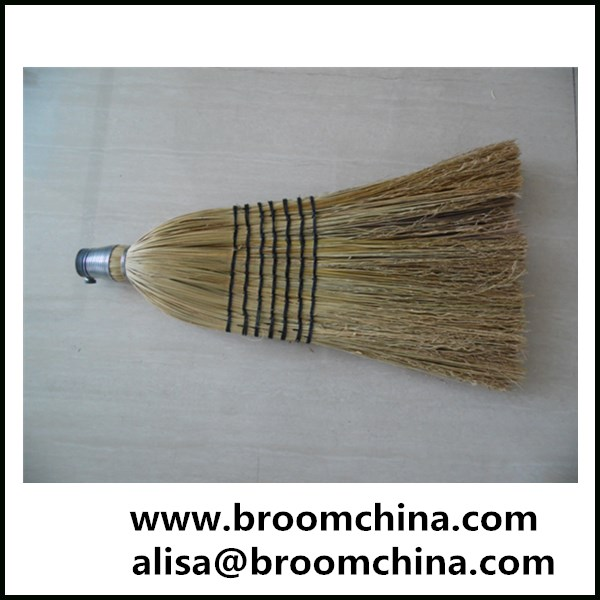 detachable natural sorghum corn broom head