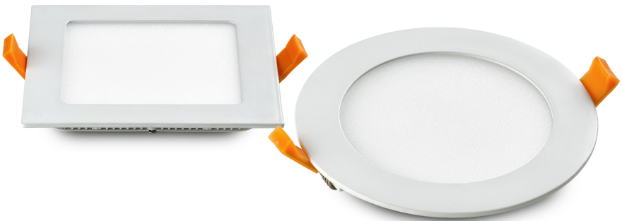 led panel light 24W Round/Square