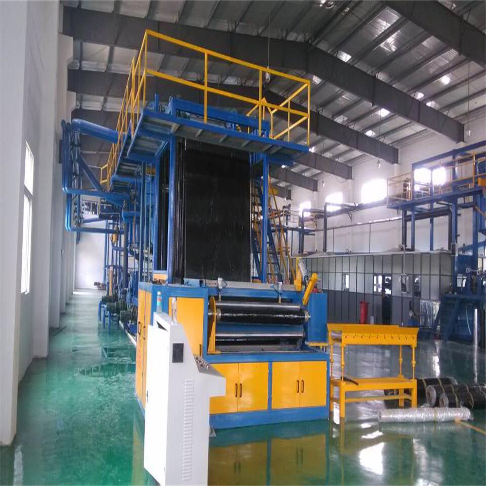 Self adhesive APP bitumen membrane making machine