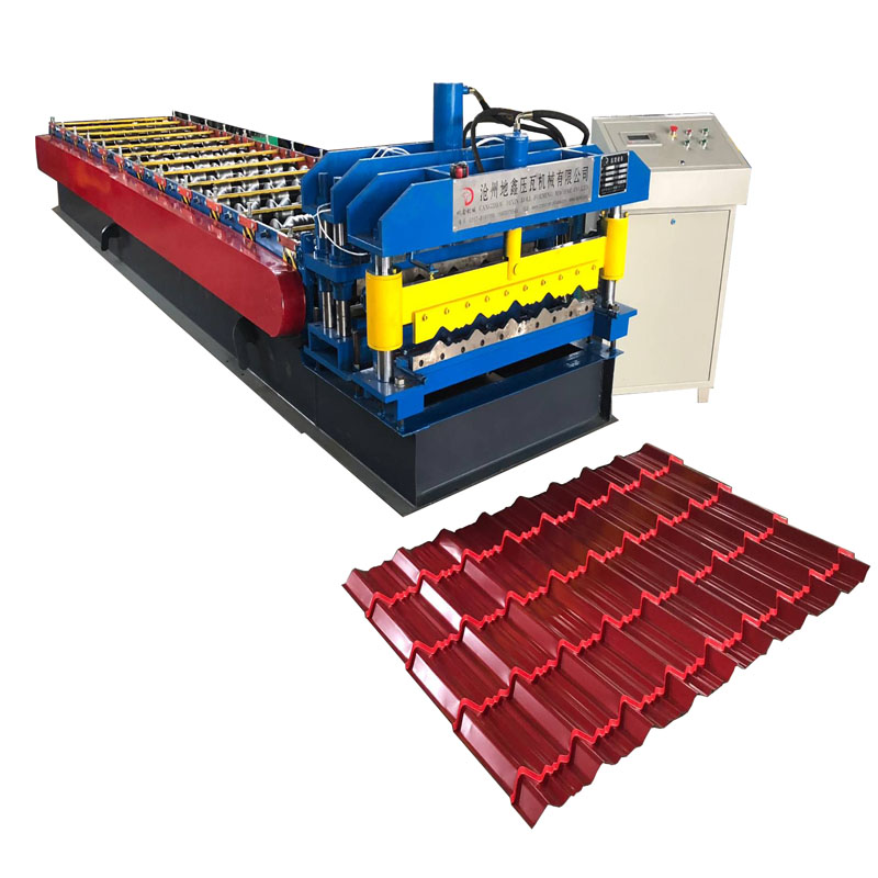 roof glazed tile roll forming machine/metal tile forming machine