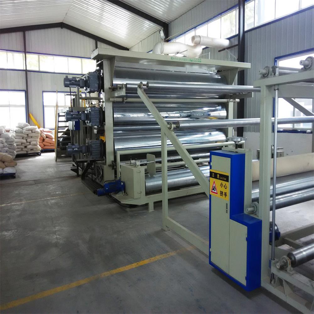 Polypropylene waterproofing membrane production line