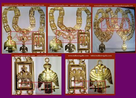 Masonic chain collar 32-degree