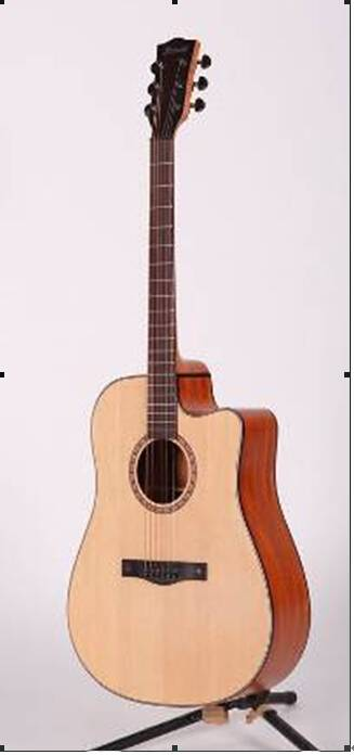 hdy13 Acoustic guitar new style popular wooden guitar free shipment violin