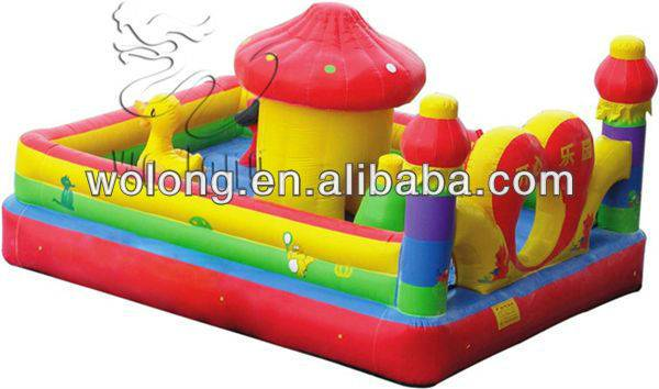 Chinese Inflatable Castle Happy Paradise/inflatable bouncer/inflatable castle