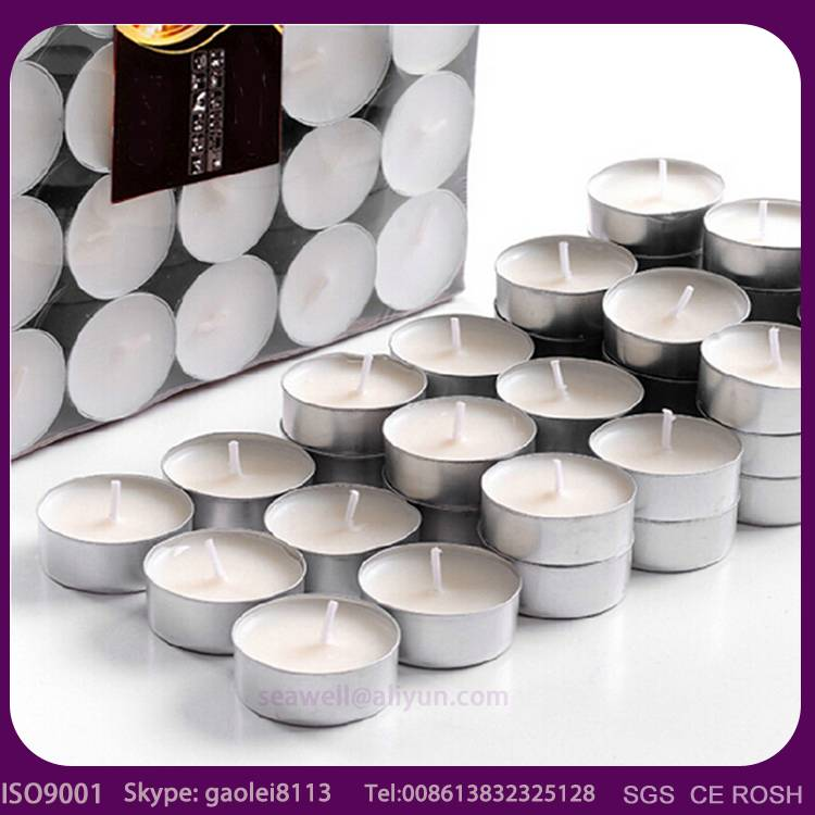 China candles factory hot sale tealight candle