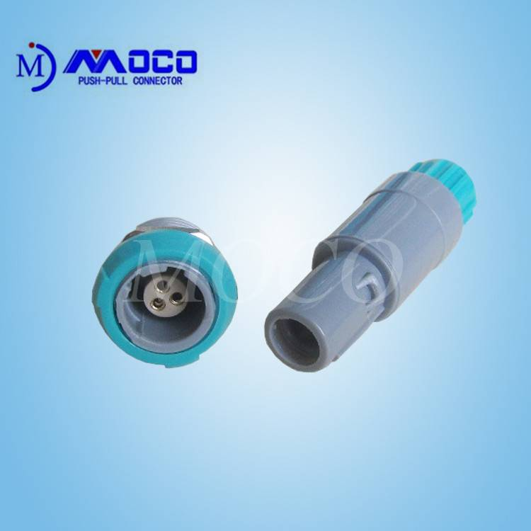 3 pin female male circular plastic dental equipment connector
