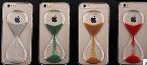 Falling Hourglass Liquid Case for Cellphone