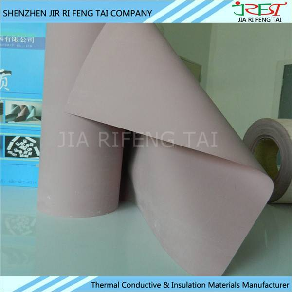 Thermal Conductive Insulation Silicone Fiberglass Fabric For IS MOS Tubes IGBT Chip