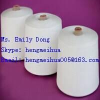 Polyester Spun Yarn 16s/2 Raw White