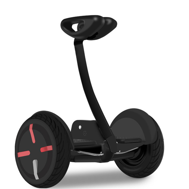 10 inch self balancing hoverboard smart electric scooter with adjustable handlebar