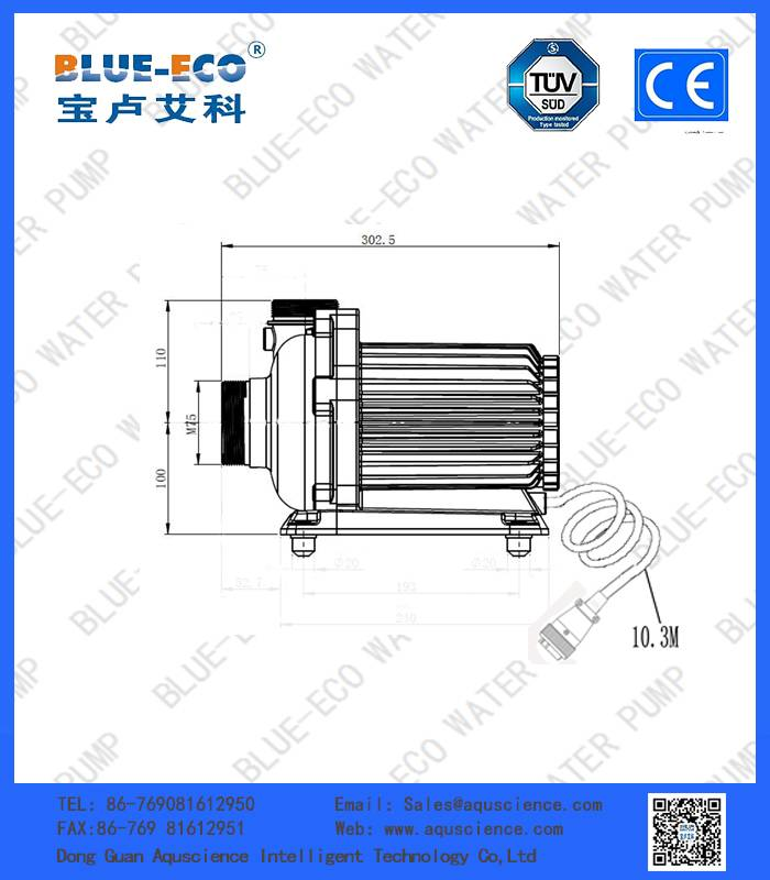 High Effciency Multistage Centrifugal Water Pump