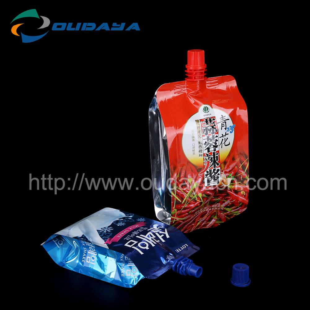 liquid bags with spout beverage soft package bag with spout beverage soft package bag