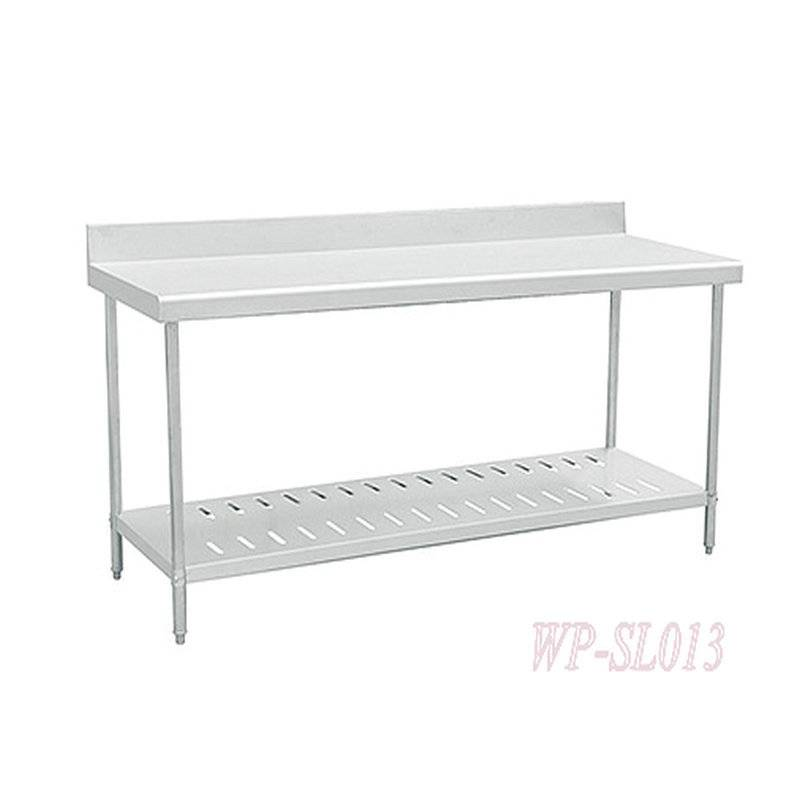 Stainless Steel Commercial Kitchen Working Table with Under Shelf