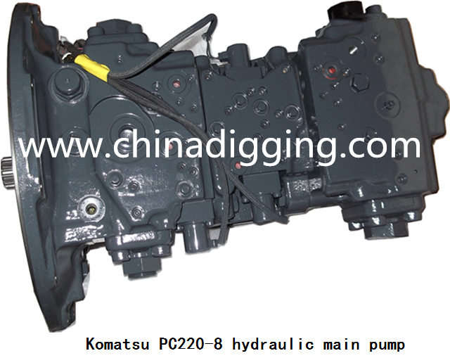 Komatsu PC220-8 excavator hydraulic pump main pump assy