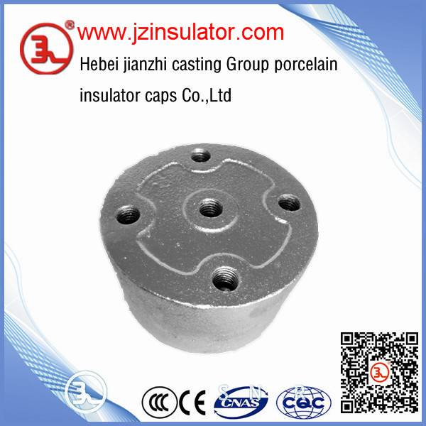 steel cap for railway station insulator