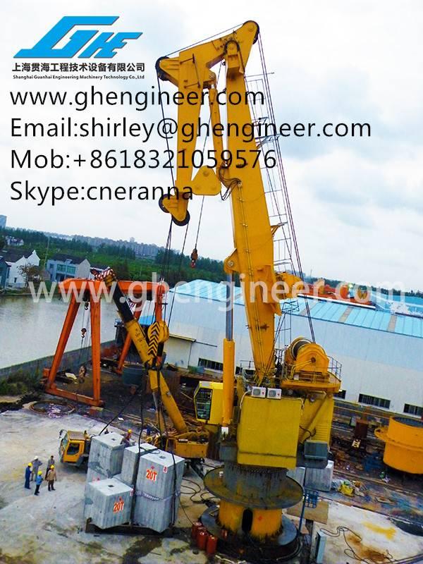 Hydraulic Stiff Boom Crane