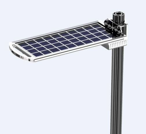 easy to install to pole and wall 6w led solar garden light