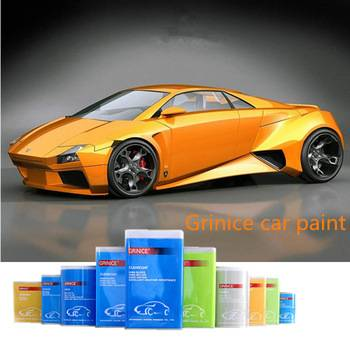 Hot Sell Cheap Yellow Color 1k Auto Paint