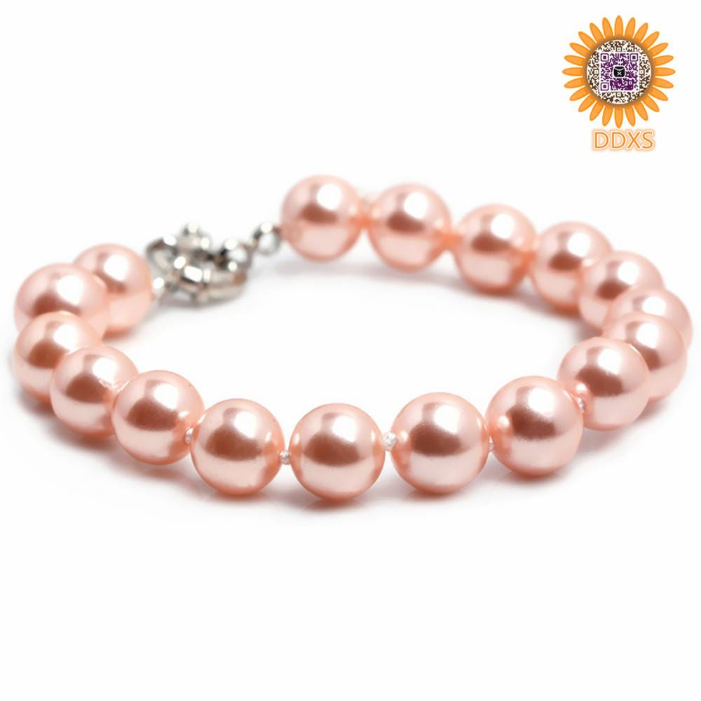 wholesale fashion meaningful shell pearl bracelet