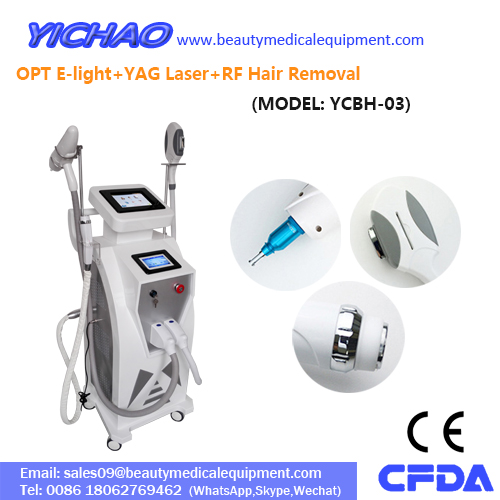 Permanent 808nm Beauty Shr Diode Laser IPL Hair Removal Machine